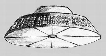 НЛО в Бердянске. Рисунок сделан 11.08.2003 г.